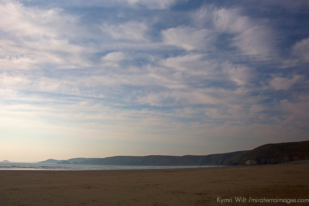 Europe, United Kingdom, Wales, Pembrokeshire, Newgale. Newgale Beach.