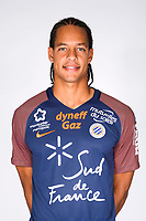 Daniel Congre during photoshooting of Montpellier Herault  for new season 2017/2018 on September 3, 2017 in Montpellier<br /> Photo : Mhsc / Icon Sport