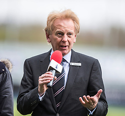 Doug Henderson, Falkirk F.C., Chairman. <br /> Falkirk 0 v 3 Hibernian, Scottish Championship game played at The Falkirk Stadium 2/5/2015.