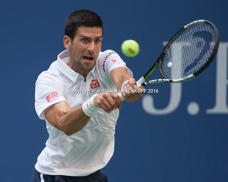 NOVAK DJOKOVIC (SRB)<br /> <br /> Tennis - US Open 2016 - Grand Slam ITF / ATP / WTA -  USTA Billie Jean King National Tennis Center - New York - New York - USA  - 9 September 2016.