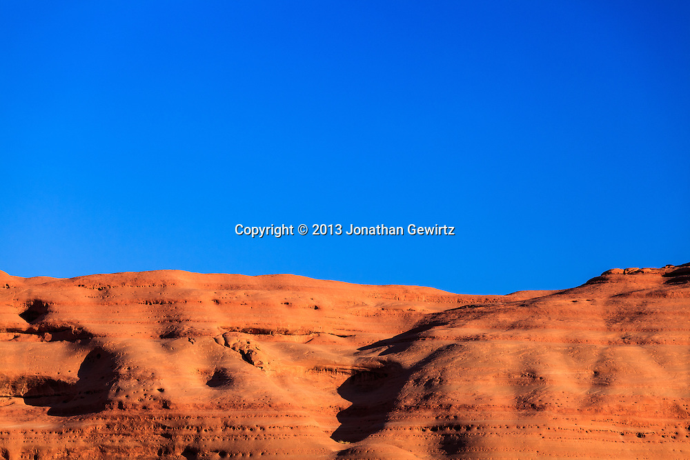 Dramatic rock formations in Arches National Park, Utah. WATERMARKS WILL NOT APPEAR ON PRINTS OR LICENSED IMAGES.