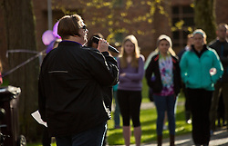 PLU Relay for Life on Friday, April 24, 2015. (Photo: John Froschauer/PLU)
