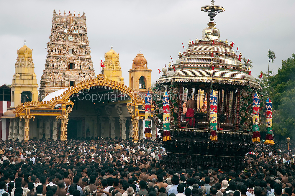 Nallur Kovil - the Chariot.