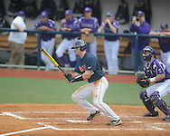 Ole Miss' Stuart Turner (26) vs. Lipscomb at Oxford-University Stadium in Oxford, Miss. on Saturday, March 9, 2013. Ole Miss won 8-5. The win was the 486th for Mike Bianco as the Rebel head coach, making him the university's all time winningest baseball coach.