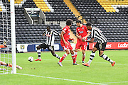 Notts County player Jonathan Forte (11) scores first goal for Notts County during the EFL Sky Bet League 2 match between Notts County and Grimsby Town FC at Meadow Lane, Nottingham, England on 3 September 2016. Photo by Ian Lyall.