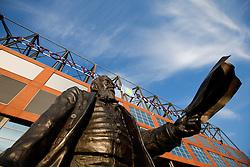 Statue of William McGregor, founder of the football League 1888, outside Villa Park - Photo mandatory by-line: Rogan Thomson/JMP - 07966 386802 - 07/04/2015 - SPORT - FOOTBALL - Birmingham, England - Villa Park - Aston Villa v Queens Park Rangers - Barclays Premier League.