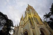 Belo Horizonte_MG, Brasil...Igreja Nossa Senhora de Lourdes em Belo Horizonte, Minas Gerais...The Nossa Senhora de Lourdes church in Belo Horizonte, Minas Gerais...Foto: JOAO MARCOS ROSA / NITRO