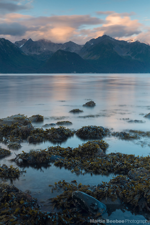 Evening over Resurrection Bay, Seward, Alaska