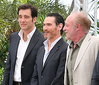 Actors Clive Owen, Billy Crudup, James Caan, at the Blood Ties film photocall at the Cannes Film Festival Monday 20th May 2013