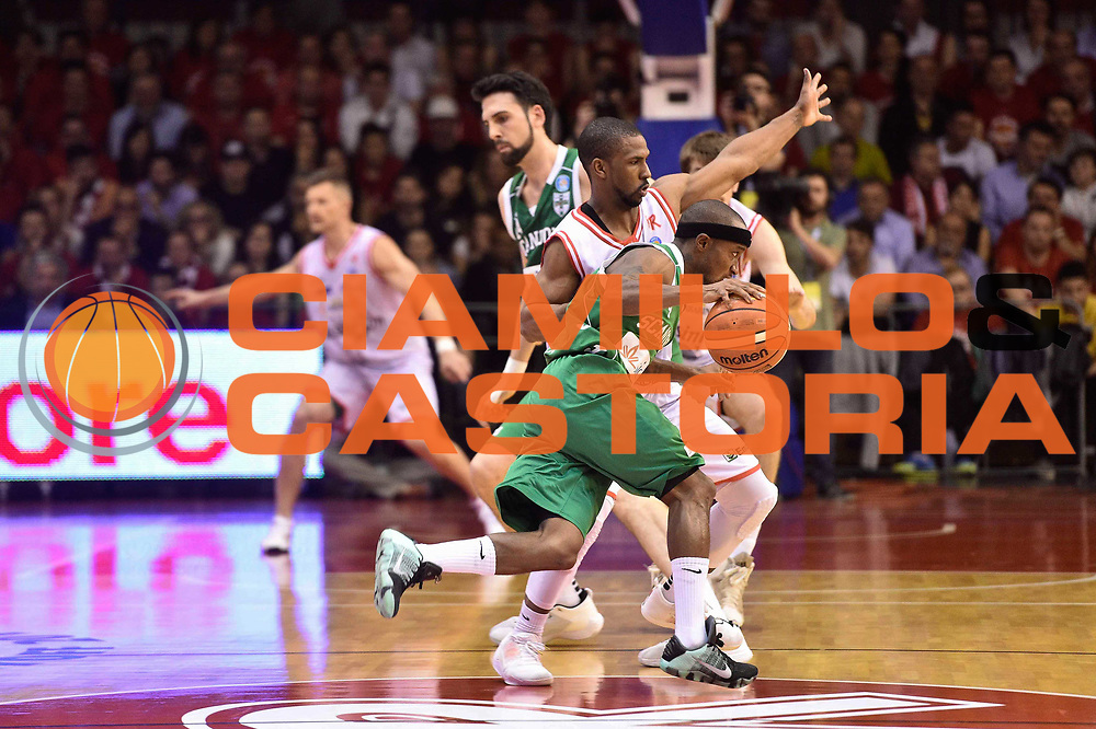 Reggio Emilia 18.05.2016<br /> Basket Serie A - Playoff Semifinali Gara 1<br /> Grissini Bon Reggio Emilia - Sidigas Avellino<br /> <br /> Nella foto: Marques Green