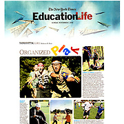Photographs: The New York Times, 'Education Life' section - 2010