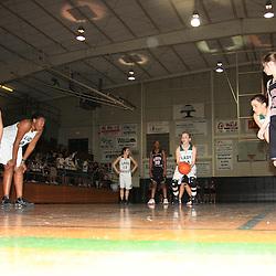 23 January 2009:  Ponchatoula Green Wave basketball.