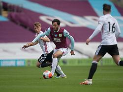 Dwight McNeil of Burnley in action - Mandatory by-line: Jack Phillips/JMP - 05/07/2020 - FOOTBALL - Turf Moor - Burnley, England - Burnley v Sheffield United - English Premier League