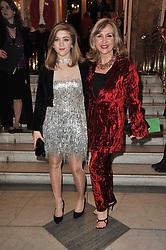 Right to left, LESLEY GARRETT and her daughter CHLOE arrive at the press night of the new Andrew Lloyd Webber  musical 'The Wizard of Oz' at The London Palladium, Argylle Street, London on 1st March 2011 followed by an aftershow party at One Marylebone, London NW1