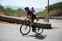 Elena Cecchini (ITA) of CANYON//SRAM Racing approaches the top of the final climb of Stage 10 of the Giro Rosa - a 124 km road race, starting and finishing in Torre Del Greco on July 9, 2017, in Naples, Italy. (Photo by Balint Hamvas/Velofocus.com)