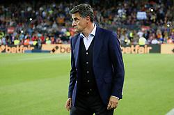 October 21, 2017 - Barcelona, Catalonia, Spain - Michel during La Liga match between FC Barcelona v Malaga CF, in Barcelona, on October 21, 2017. (Credit Image: © Joan Valls/NurPhoto via ZUMA Press)