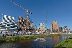 Amsterdam Zuideramstel, Zuidas, Noord Holland, Netherlands