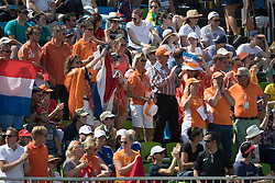 Dutch supporters<br /> Olympic Games Rio 2016<br /> © Hippo Foto - Dirk Caremans<br /> 15/08/16