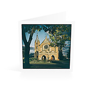 Photo Art Greeting Card | New England Collection | Uniting Church Inverell | Printed on lightly textured matte art paper stock, blank inside. White envelope included, packaged in sealed poly bag. Dimensions: Card 123 x 123mm. Envelope 130 x 130mm.<br /> <br /> Click &quot;Add to Cart&quot; to compose your own mix of 5 or 10 cards from this collection.