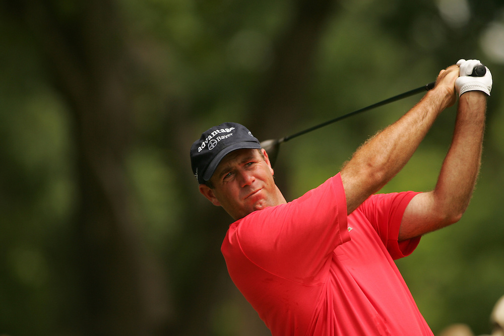 Stewart Cink..2004 Colonial Invitational.Fourth Round.Colnial Country Club.Fort Worth, Texas.Sunday, May 23 2004.photograph by Darren Carroll
