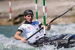 Vit PRINDIS of Czech Republic during the Kayak Single (MK1) Mens Semi Final race of 2019 ICF Canoe Slalom World Cup 4, on June 30, 2019 in Tacen, Ljubljana, Slovenia. Photo by Sasa Pahic Szabo / Sportida