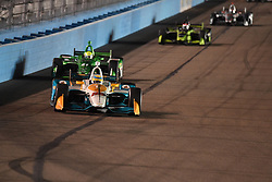 April 6, 2018 - Phoenix, AZ, U.S. - PHOENIX, AZ - APRIL 07: Driver Gabby Chaves in the Verizon IndyCar Series Desert Diamond West Valley Casino Phoenix Grand Prix on April 7, 2018, at ISM Raceway in Phoenix, AZ. (Photo by Grant Exline/Icon Sportswire) (Credit Image: © Grant Exline/Icon SMI via ZUMA Press)