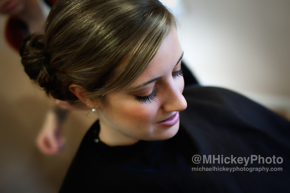 The wedding of Trevor Beaman and Shawn Burford in Lafayette, Indiana on Dec. 19, 2009.<br /> Photo by Michael Hickey