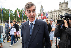 © Licensed to London News Pictures. 03/06/2019. London, UK. Jacob Rees-Mogg MP seen in Westminster this afternoon. Photo credit : Tom Nicholson/LNP