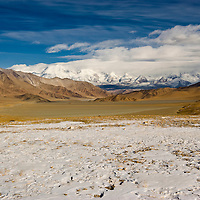 The Pamirs plateau, Tashkurgan County, Xinjiang, China