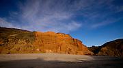 Pfieffer Beach sunset, central California coast