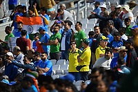 Cricket - 2019 ICC Cricket World Cup - Group Stage: India vs. Australia<br /> <br /> Australia fans heavily outnumbered, at The Kia Oval.<br /> <br /> COLORSPORT/ASHLEY WESTERN