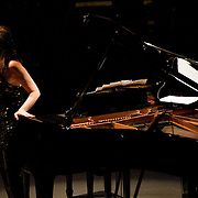 May 14, 2011 - Manhattan, NY : .Pianist Sonia Rubinsky performs during Symphony Space's Wall to Wall Sonidos concert on Saturday night. .CREDIT: Karsten Moran for The New York Times
