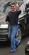 Simon Cowell arriving for the x factor live show<br /> ©Exclusivepix Media