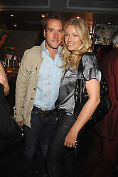 BEN FOGLE and his wife MARINA at a party to celebrate the publication of  'The Return of the Sloane Ranger' held at Kitt's, Sloane Square, London on 15th October 2007.<br /><br />NON EXCLUSIVE - WORLD RIGHTS