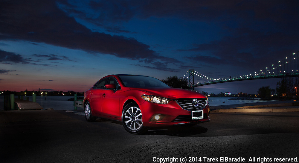 Mazda 6 Car Photography