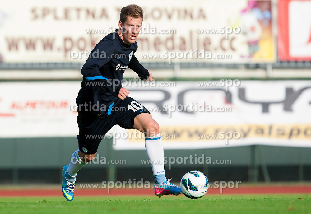 Valter Birsa during practice session of Slovenian National football team at training camp on May 28, 2013 in Sports park Kranj, Slovenia. (Photo By Vid Ponikvar / Sportida)