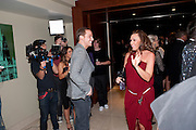 MICHELLE HEATON, London Lifestyle Awards. Riverbank Park Plaza. London.6 October 2011. <br /> <br />  , -DO NOT ARCHIVE-© Copyright Photograph by Dafydd Jones. 248 Clapham Rd. London SW9 0PZ. Tel 0207 820 0771. www.dafjones.com.