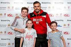 Marlon Pack of Bristol City poses during the Player Sponsors' Evening in the Sports Bar & Grill at Ashton Gate - Mandatory byline: Rogan Thomson/JMP - 11/04/2016 - FOOTBALL - Ashton Gate Stadium - Bristol, England - Bristol City Player Sponsors' Evening.