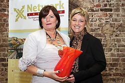 """Three top business women from Galway, Cork and Dublin win Network Ireland Business Women of the Year Awards...Picture at the awards..Ms Mary Kershaw, President Network Ireland..Valerie Cahill, CEO  Ikon Hair Design in Cork, the award winning hair styling company in Cork, won the Network Businesswoman (Self Employed) of the Year ..Friday, 21 October, 2011: The Galway founder of the successful travel pack for flyers, an internationally renowned hairdresser from Cork and the Head of Prudential Supervision at the Irish Banking Federation were presented with Network Ireland 2011 Business Women of the Year Awards, sponsored by Celebrity Cruises, today at Dublin Castle...Ms Julia McAndrew, the founder of Compleat Travel Essentials Packs, the new Galway company that sells to over 4,000 retail and hotel customers, a range of specially prepared packs containing essential toiletries for those flying and travelling throughout the world, won the Network Businesswoman (New Business) of the Year. Ms Valerie Cahill, CEO  Ikon Hair Design in Cork, the award winning hair styling company in Cork, won the Network Businesswoman (Self Employed) of the Year and Ms Mary Doyle, Head of Prudential Supervision at the  Irish Banking Federation, Dublin won the Network Businesswoman (Employee) of the Year. ..The """"Trish Murphy Honorary Award"""" was presented by Network Ireland to the successful business woman, Ms Norma Smurfit, for her tireless commitment and work for a large number of charities. This is the inaugural year of this award in honour of Trish Murphy, a past Network Dublin President who contributed significantly to the organisation and also for charity. Sadly she passed away last year prematurely at the age of 53 from cancer...Ms Mary Kershaw, President Network Ireland, an organisation representing over 3,000 women in business, said that the theme for this year's awards was """"Local Talent for Global Opportunities"""". ..""""Our members aspire to successfully developing their busine"""