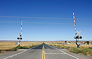 US-ARIZONA: Railroad Crossing. PHOTO GERRIT DE HEUS