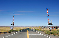US-ARIZONA: Railroad Crossing. PHOTO GERRIT DE HEUS