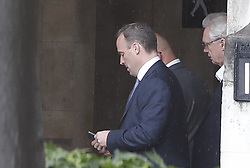 © Licensed to London News Pictures. 13/06/2019. London, UK.  Dominic Raab is seen at Parliament after the first round of voting for the leadership of the Conservative Party. Photo credit: Peter Macdiarmid/LNP