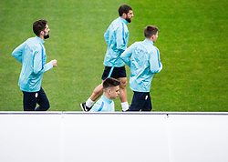 Nejc Mevlja, Gregor Sikosek, Miha Zajc, Bojan Jokic during Practice session of Slovenia team before World Cup Qualifying football match against National teams of Malta, on November 7, 2016 in NNC Brdo pri Kranju, Slovenia. Photo by Vid Ponikvar / Sportida