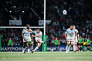 Maxime MACHENAUD (Racing Metro 92) scored a new penalty during the European Rugby Champions Cup, Pool 4, Rugby Union match between Racing 92 and Munster Rugby on January 14, 2018 at U Arena stadium in Nanterre, France - Photo Stephane Allaman / ProSportsImages / DPPI