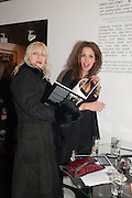MARGARET DUVALL; VICKY AMIRALIS, Drag Queens, Rent Boys, Pick Pockets, Junkies, Rockstars and Punks,, Leee Black Childers ,  book launch and exhibition opening. <br />  The Vinyl Factory Chelsea, Walton St. London. 5 December 2012.