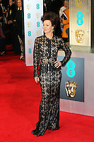 Helen McCrory, British Academy Film Awards - BAFTAS, Royal Opera House, London UK, 16 February 2014, Photo by Richard Goldschmidt