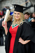 Emily McGreal Athenry who received BA International from NUI,Galway. Photo:Andrew Downes