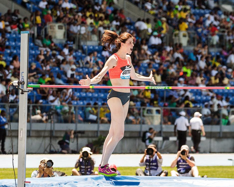 adidas Grand Prix Diamond League Track & Field: womens high jump, Ruth Beitia,