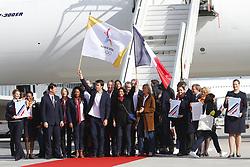 September 15, 2017 - Paris, France, France - Tony Estanguet - Anne Hidalgo - Laura Flessel - Valerie Pecresse - Guy Drut (Credit Image: © Panoramic via ZUMA Press)