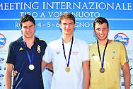 podio <br /> giorno 01<br /> I Meeting internazionale Tiro a Volo Nuoto<br /> Roma  Italy 4-6/06/2015<br /> Photo Pasquale Mesiano/Deepbluemedia/Insidefoto
